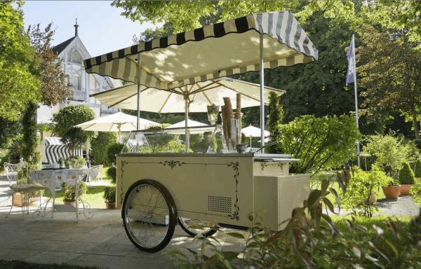 Итальянская тележка с мороженым